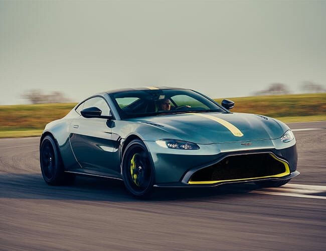 Aston Martin vantage amr manual stick shift