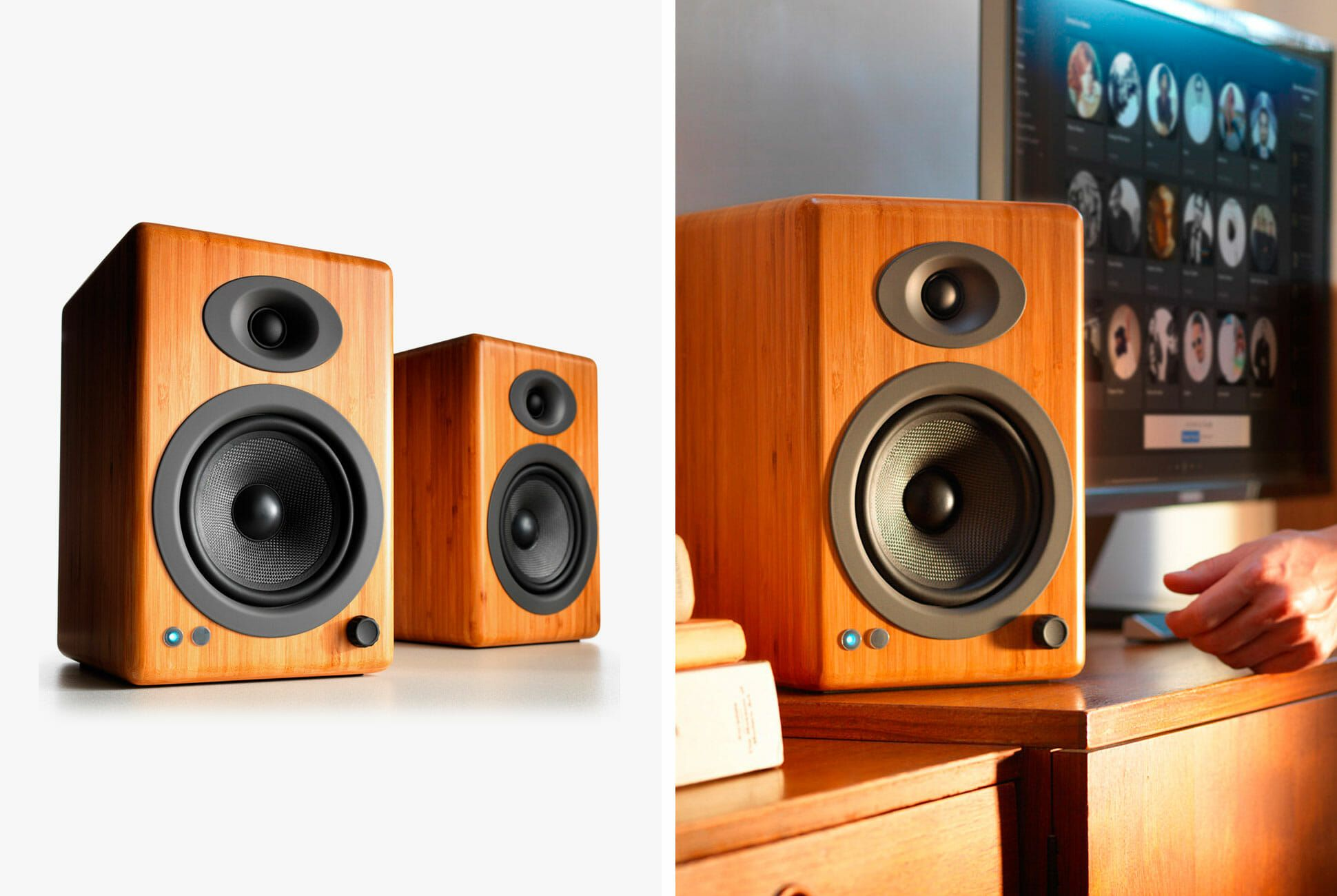 Save Big On These Excellent Wireless Bookshelf Speakers Gear Patrol
