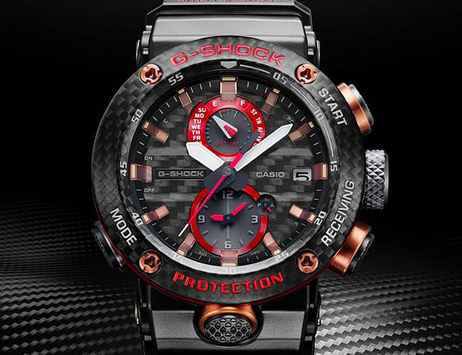 This New Badass G-Shock Watch Is Made of Solid Carbon