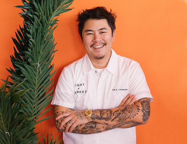 What Night + Market Chef Kris Yenbamroong Has in His Cart