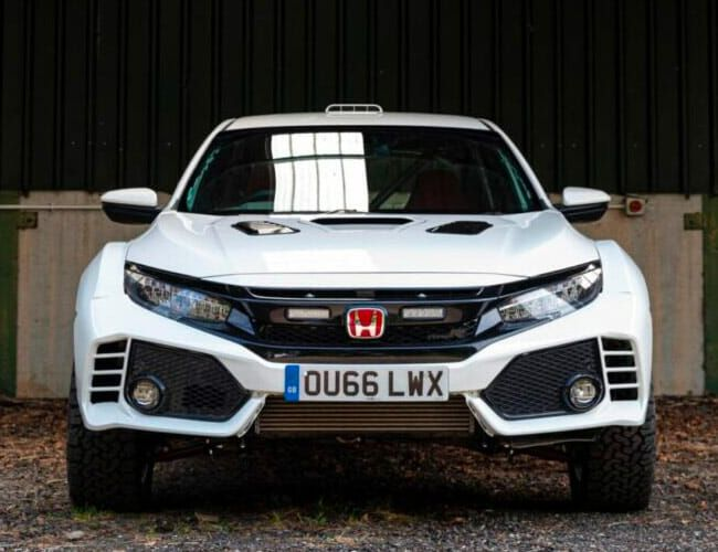 This Insane Honda Civic Type R Off-Roader Is Real, and You Can Buy One