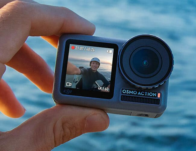 The King of Drones' First Foray Into Action Cams is Damn Impressive
