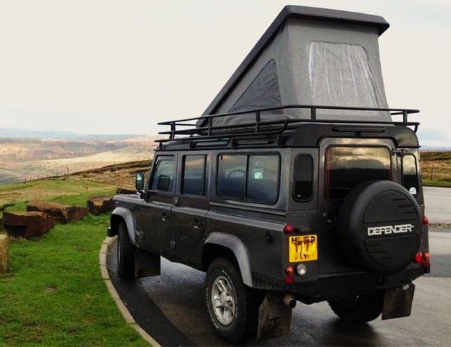land rover defender camper overland gear patrol