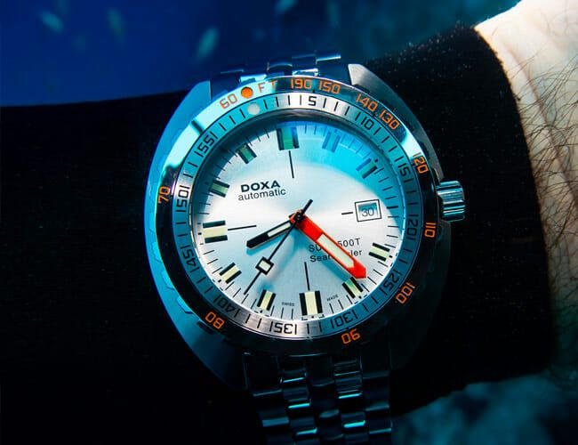 Scuba Diving in Bonaire with Doxa Watches