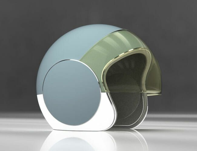 doucet motorcycle helmet concept future safety gear patrol