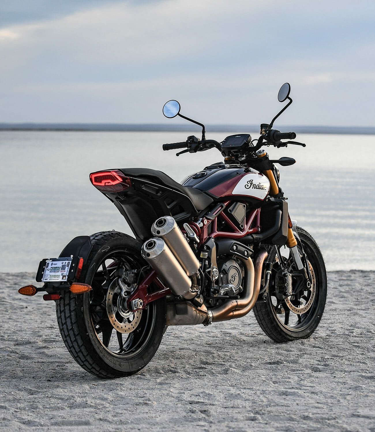 Indian Ftr 1200 >> 2019 Indian Ftr 1200 Review Out With The Old In With The