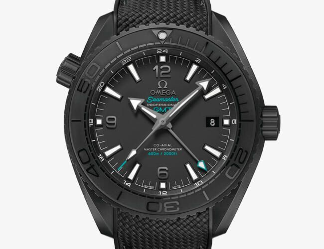 Omega Teamed Up With a Tequila Brand on This Blacked-Out Ceramic Dive Watch
