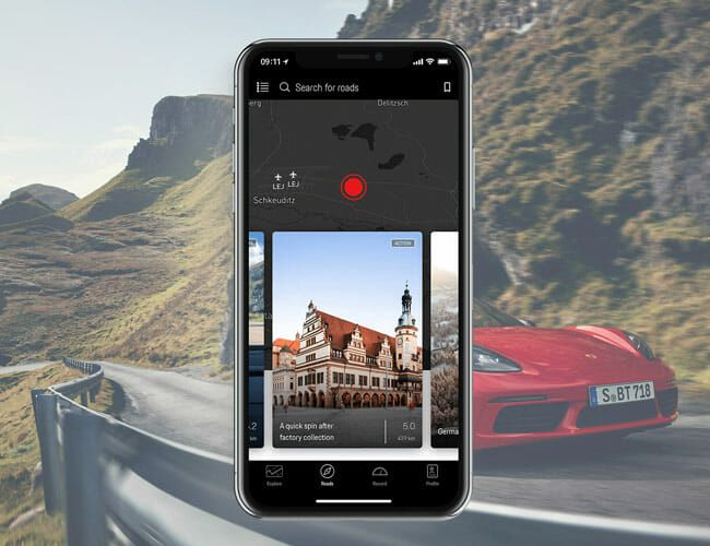 If You Love Driving, Porsche's New App Is Made for You