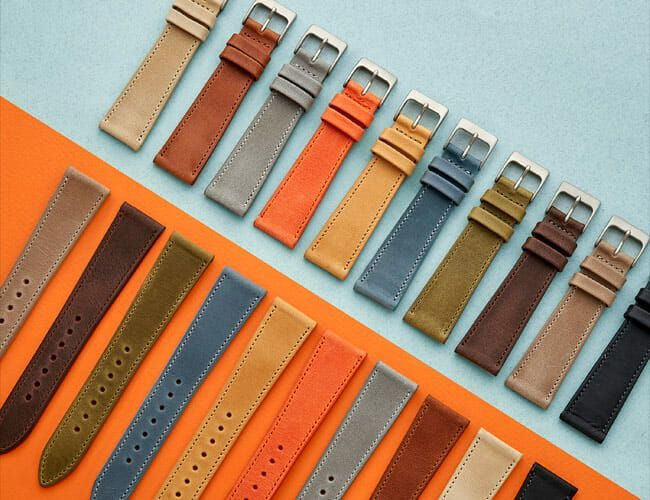 HODINKEE's Latest Leather Watch Straps Are the Perfect Complement to Your Watch Collection