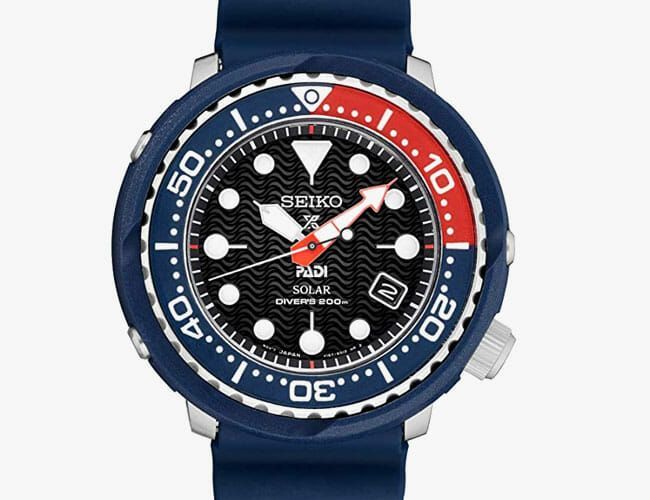 Need a Quality Dive Watch? This One from Seiko Is Half-Off