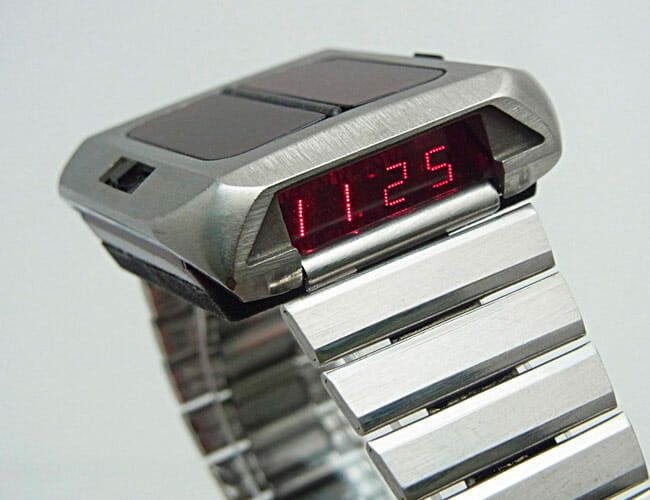 The First Solar-Powered Watch Was Far Ahead of Its Time