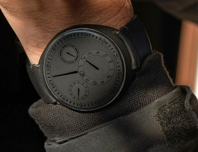 This Is One of the Coolest Black Watches Available