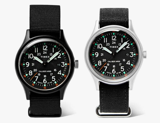 Timex and Mr Porter Teamed Up On a Special Edition of This Affordable Field Watch