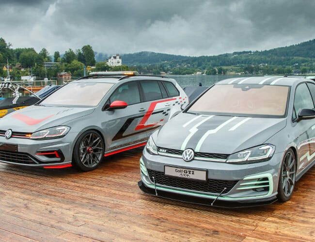 VW's Insane Golf R Wagon and GTI Concepts Hide Serious Power