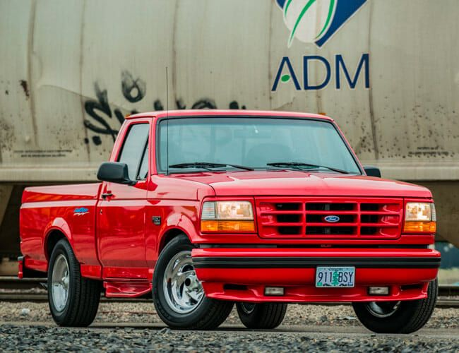 This Vintage Ford F-150 Lightning Is the Sport Truck You Never Knew You Wanted