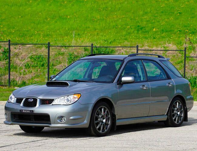 This Gorgeous Subaru WRX Wagon Is a Great Alternative to the STI
