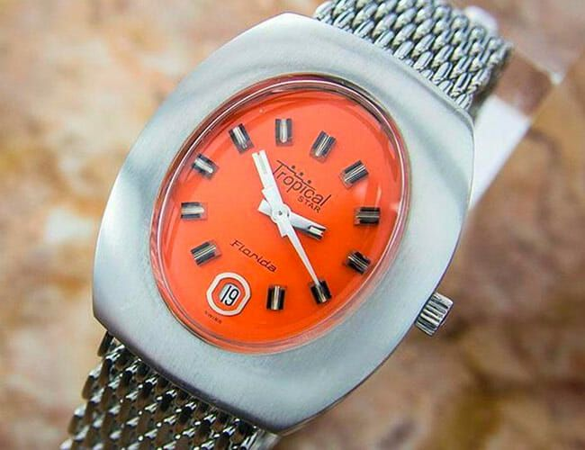 Three Colorful Vintage Watches to Up Your Summer Wrist Game