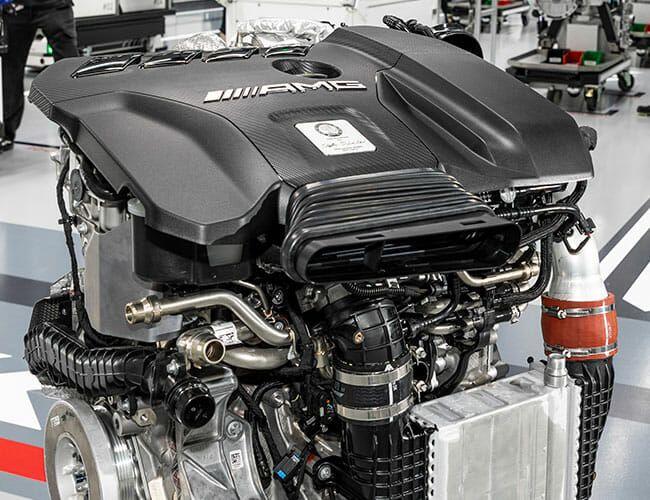 Mercedes-AMG Just Created the World's Craziest Hot Hatch Engine
