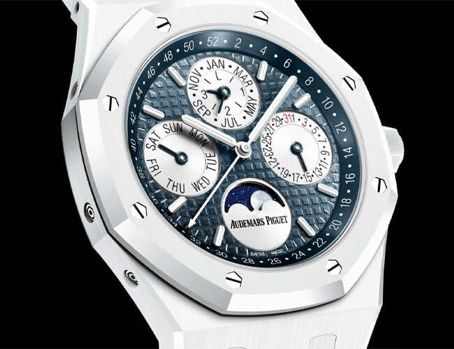 The AP Royal Oak Is Now Available in Beautiful White Ceramic
