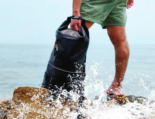 This Completely Waterproof Backpack Is Functional Enough to Use Every Day
