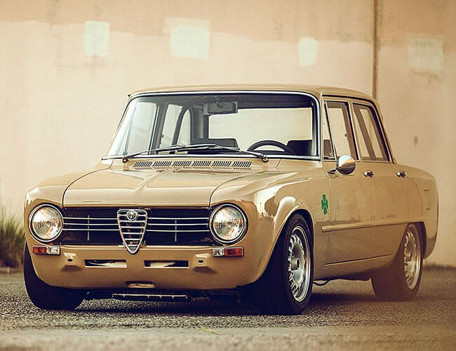 This Gorgeous, One-of-a-Kind Alfa Romeo Restomod Could Be Yours