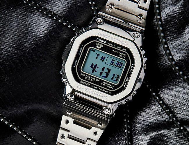 The GMWB5000D Is a Bluetooth®-Connected Watch for Lovers of Classic G-SHOCK Vibes