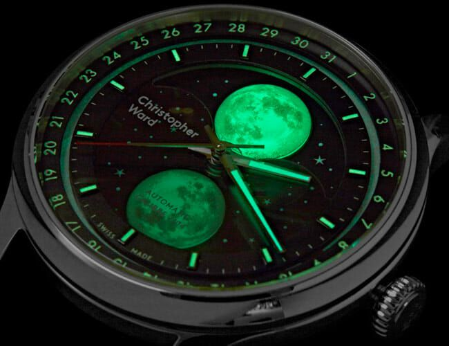 This Is the Coolest Moon Phase Watch We've Seen in Recent Memory