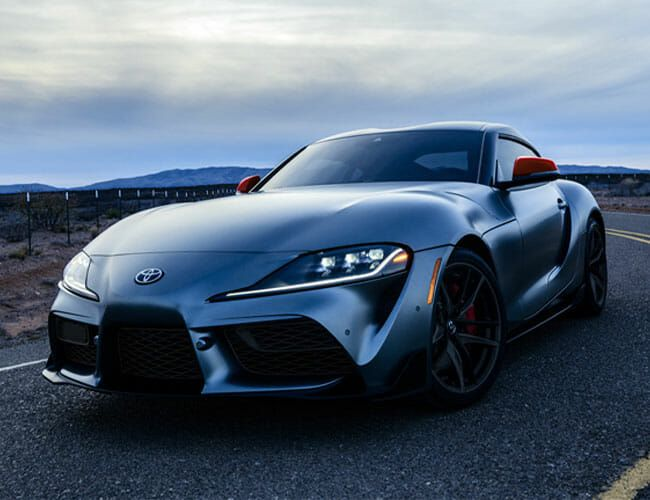 Someone Paid $2.1 Million for This 2020 Toyota Supra