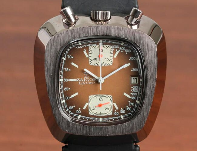 These Weirdly Shaped Vintage Sport Watches Would Be Unthinkable Today