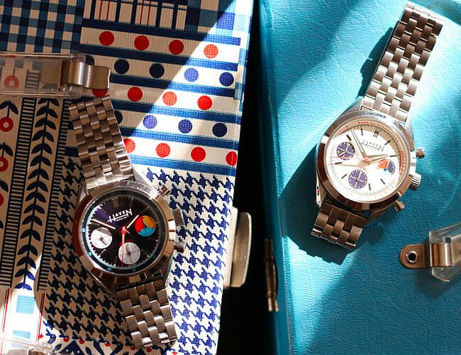A New American Brand Is Building a Vintage-Inspired Chronograph Watch