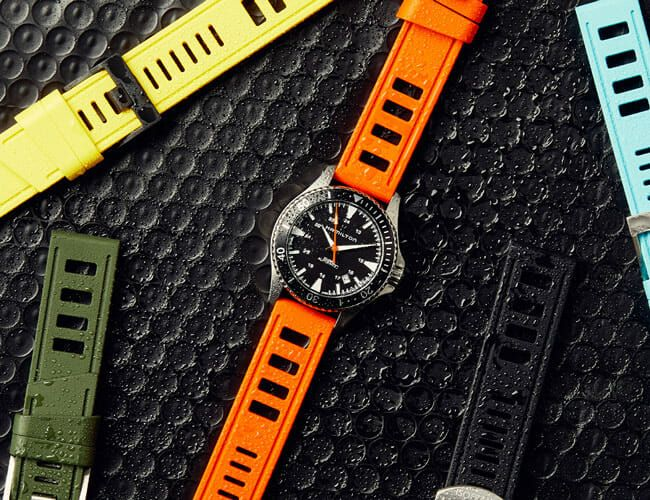 This is the Strap Your Dive Watch is Missing