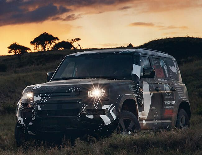 This Is Our Best Look Yet at the New Land Rover Defender