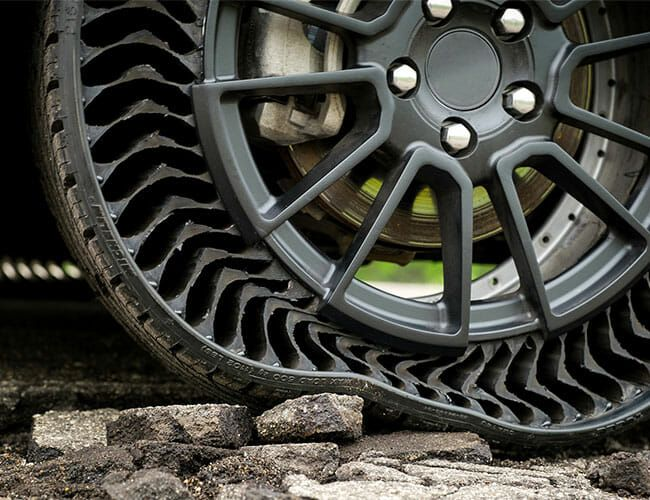 Here's What Tires Will Look Like in the Future