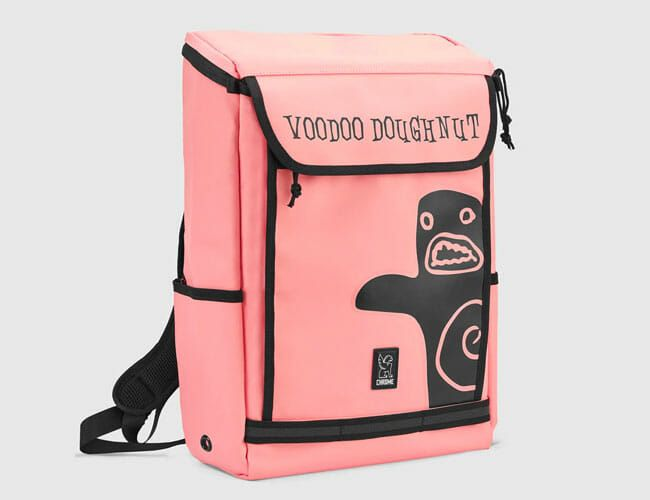 Chrome Industries' New Voodoo Doughnut Backpack Makes Us Hungry