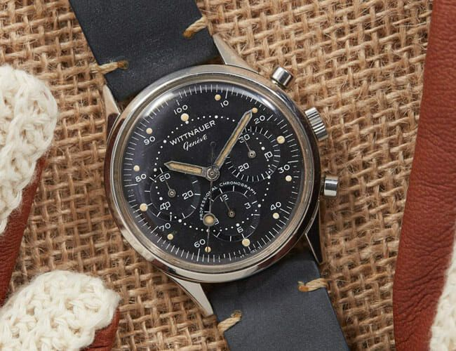 This Chronograph Watch Almost Went to the Moon