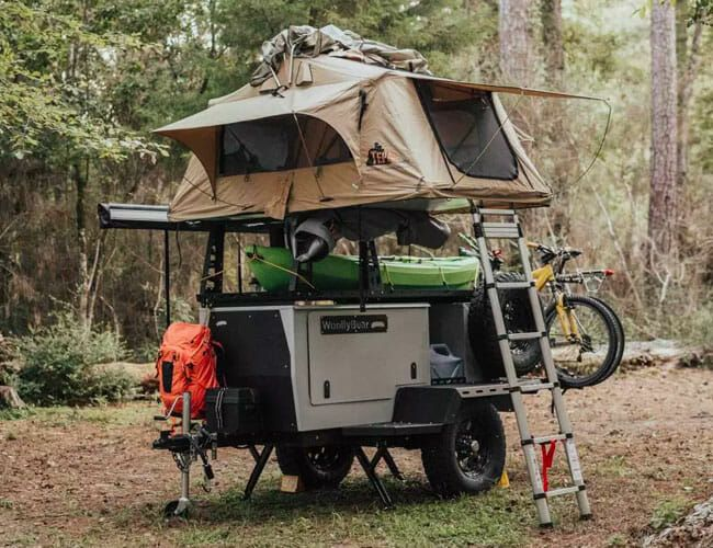 This Affordable Adventure Trailer Is a Perfect Rolling Campsite for Two