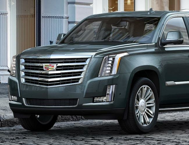Cadillac Might Be Building a 400-Mile Range Electric Escalade