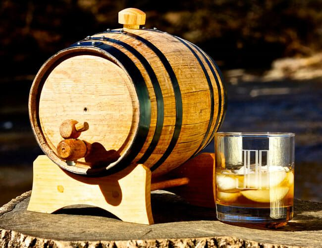 Sorry, None of Your Groomsmen Want Mini Whiskey-Aging Barrels