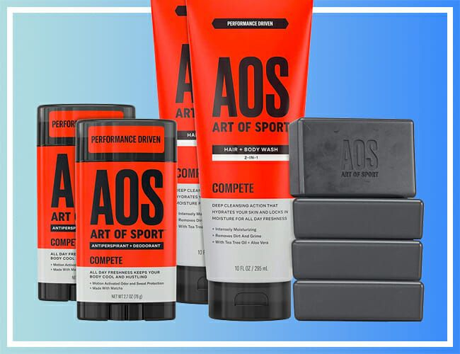 The Best Grooming Products for Athletes Are 20% off Right Now