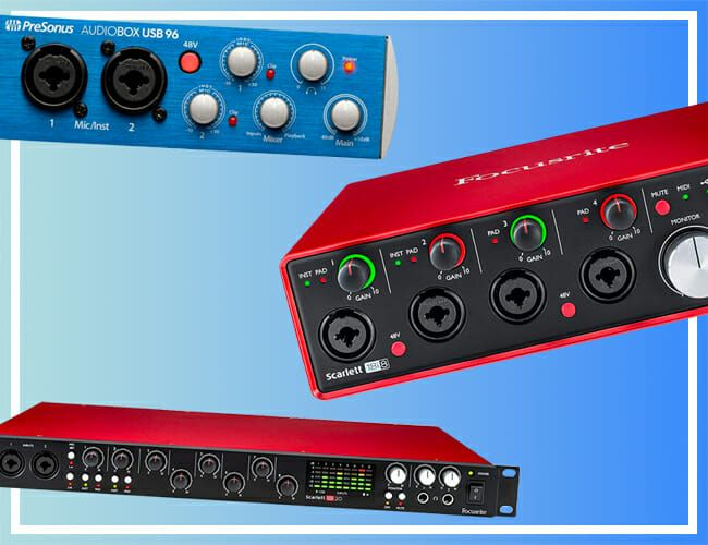 These Audio Interfaces for Home Recording Are Seriously Discounted