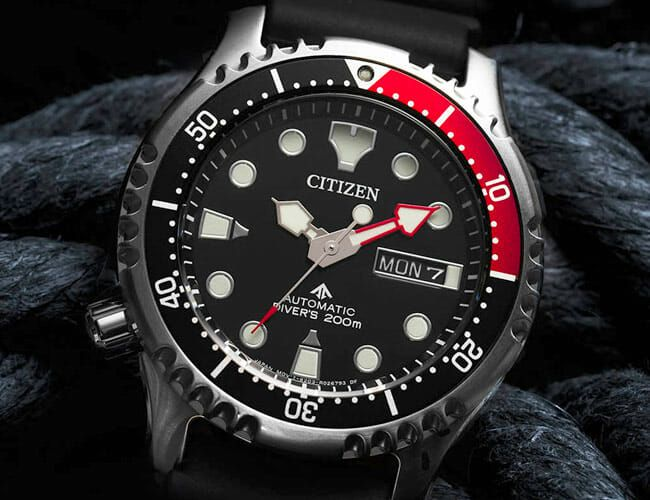 Citizen's Affordable New Dive Watches Feature Automatic Movements
