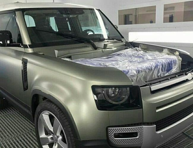 We May Have Just Learned New Secrets About the Next Land Rover Defender