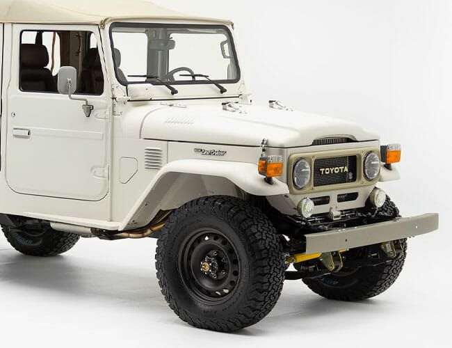 Could This Be the Coolest Vintage Toyota Land Cruiser Ever Made?