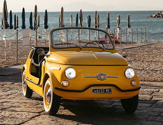 Hertz Is Giving Old-School Fiats a New Lease on Life in Italy