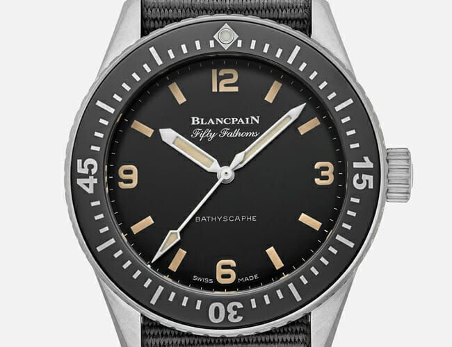 HODINKEE and Blancpain Launched a Special Edition of a Classic Dive Watch