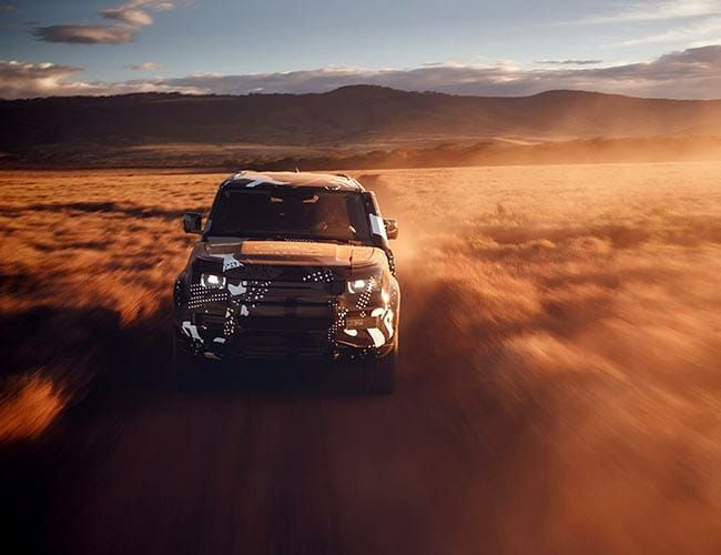 The New Land Rover Defender's Bones Will Be Used for a Jaguar SUV