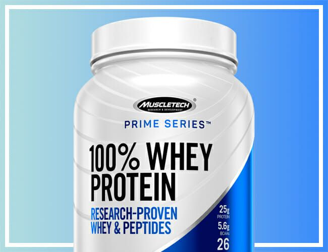 The Whey Protein Powder Hall of Fame Athletes Swear by Is on Sale Now