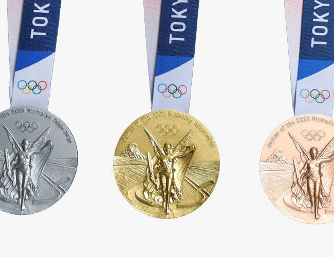 The Surprising Secret Ingredient in the 2020 Olympic Medals