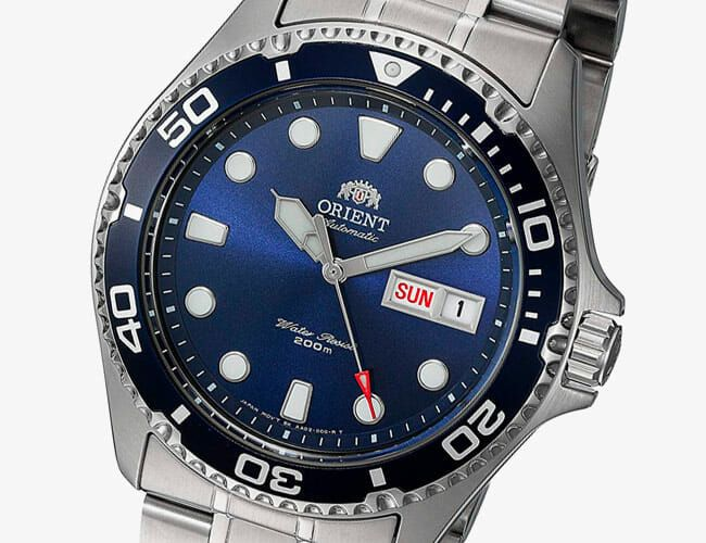 Get This Affordable, Automatic Dive Watch Starting at $116