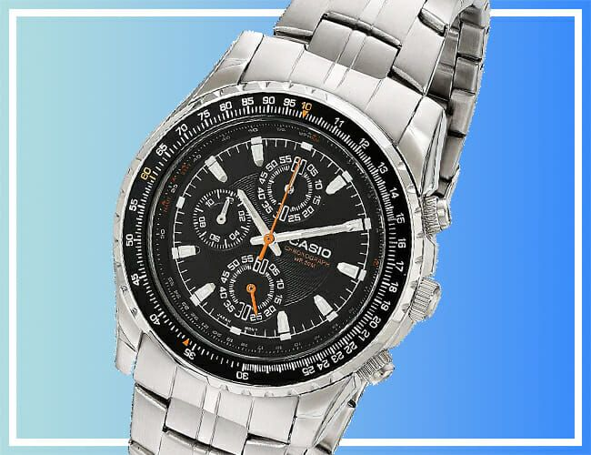 Take 51% Off This Casio Pilot's Watch